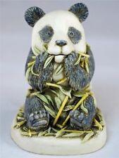 MIB Harmony Kingdom BAMBOOZLED Panda Bear with Bamboo Treasure Jest TJPA