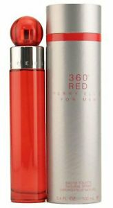 360 RED for Men by Perry Ellis Cologne 3.4 oz New in Box