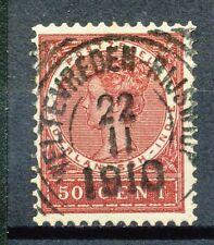 Nederlands Indië  57 gebruikt met vierkantstempel WELTEVREDEN - RIJSWIJK