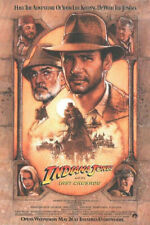 Indiana Jones and the Last Crusade Reproduction Movie Poster 27x40 in.