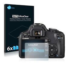 6x Film Protection écran pour Canon EOS 500D Protecteur