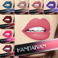 12Colors Liquid Lipstick Soft Matte Lip Gloss Waterproof Long Lasting Makeup New