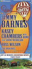 Jimmy Barnes & Kasey Chambers Promo Concert Flyer 2009 Australia Ross Wilson