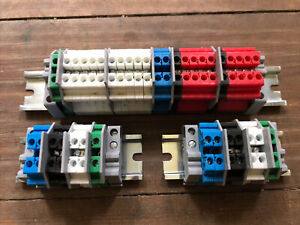 Terminal Blocks for Control4 Panels 8 Channel Relay V2 and 2 X Power & Overide