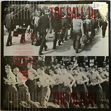 "THE CLASH The Call Up CBS UK 1980 Ex  Punk P/S 7"""