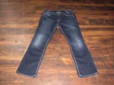 Women's Silver jeans Suki Mid Slim Boot size 34 x 31 Super Stretch Mid Rise MINT