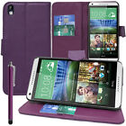 FUNDA PROTECTORA PARA HTC Desire 816 / 816g Dual SIM Móvil Cartera con tapa