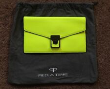 Pied A Terre Lime Palermo Clutch, RRP £99