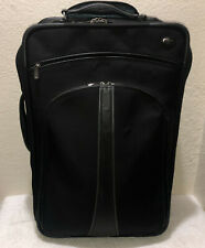 "Tumi Alpha International 2 Wheel 22"" Carry On Suitcase Black 43622IRN"