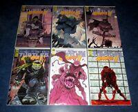 JENNIKA II 1 2 3 4 5 6 1st print set teenage mutant ninja turtles IDW comic 2021