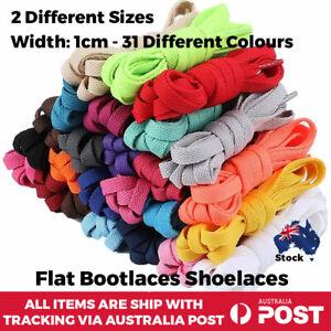 Shoelaces Flat Colourful Multi Coloured Bootlace Sneaker Boot shoe laces Unisex