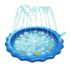 """New listing Splash Pad Sprinkler for Kids Water Toys Play Mat 68"""" Inflatable Baby Wading."""