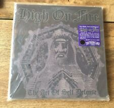 High On Fire - Art of Self Defense - Ltd. Black Vinyl - Metal - Sleep - OM