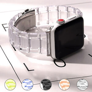 Transparent Strap Watch band Table Annex For Apple Series 6 SE 5 4 3 Iwatch