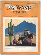 1934 The WASP Magazine, San Francisco weekly; News Art Literature Music Society