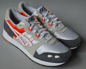 Men's Grey & White Asics Gel-Lyte Trainers, Running Shoes Size UK 11, EU 46.5.