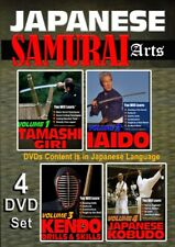 Japanese Samurai Arts - 4 Dvd Collection