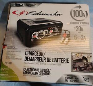 SCHUMACHER BATTERY STARTER/CHARGER 100A LED INDICATORS