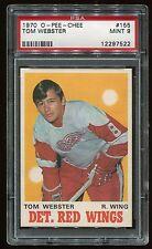 1970 OPC #155 Tom Webster *Red Wings* PSA 9 MINT Cert #12297522