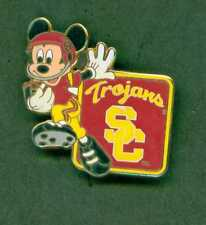 DISNEY PIN NCAA FOOTBALL SERIES SC TROJANS MICKEY