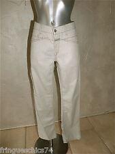 pantalones grises mujer MARITHé FRANÇOIS GIRBAUD boyfriend T 40 W30 ETIQUETA