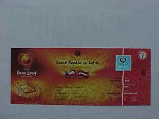 Euro 2004 1er match 7 czech rep. Lettonie ticket VIP complet parfait état