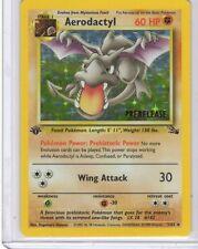 Pokemon  Aerodactyl Prerelease Holo  card