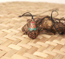 OM Nepalese Rudraksha Mala Prayer Yoga 100% Original From Pashupati Nath
