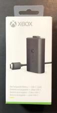 Officiel Xbox Play Et Charge Kit [Batterie Rechargeable + Usb-C Câble ] Neuf