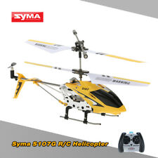 100% 3CH Syma S107G Mini Infrared RC Helicopter with Gyro Yellow US Stock P7S8