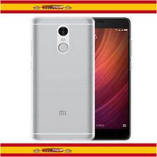 Funda TPU 100% de Gel Silicona Transparente Para Xiaomi Redmi Note 4