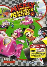Disney  - MICKEY AND THE ROADSTER RACERS - DVD - plus: create license plate -NEW