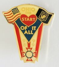 Ohio The Start Of It All 1999 Veterans War VFW Pin Badge Authentic Vintage (N23)