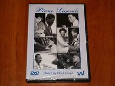 PIANO LEGENDS HOSTED BY CHICK COREA FILM DOCUMENTARY JAZZ LIVE RARE VAI DVD New