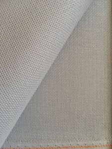 Pewter 14 Count Zweigart Aida cross stitch fabric - various size options