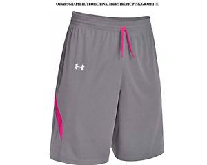 Under Armour Womens Clutch Reversible Basketball Shorts S, L, XL, 2XL sport gym