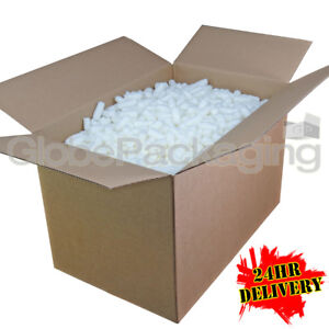 6 Cubic Foot Ft of ECOFLO Biodegradable Loose Void Fill Packing Peanuts *24HRS*