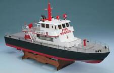 AquaCraft Rescue 17 Fireboat With Water Cannon R/C Boat Tactic 2.4Ghz AQUB5701