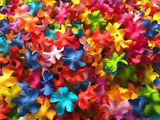 Flowers Mulberry Paper Mix Colorful Floral Scrapbooking Wedding Card Gift 50 Pc