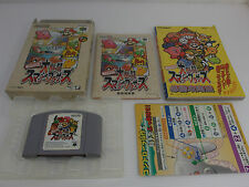 Nintendo 64 Dairantou Smash Brothers Mario + Guide book set N64 Japanese vers