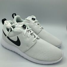 Nike Roshe One Running Shoes White/Black Athletic Casual 844994-101 Womens sizes