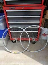 "VINTAGE - NEW Shimano XT Wheel Set FH-M737 26"" MTB Mountain Bike 32h Mavic M231"