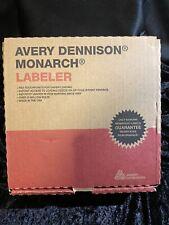 Avery Dennison- Monarch 1140 1 Line Labeling/Pricing Gun- Brand New In Box!