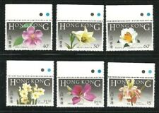 Album Treasures Hong Kong Scott # 451-456  Indigenous Flowers Mint NH
