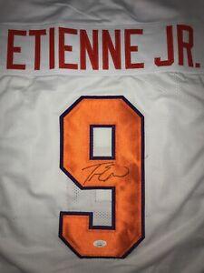 Travis Etienne Signed Autographed Custom Clemson Tigers Jersey JSA