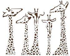 Wall Stickers custom colour large giraffe vinyl decal decor Nursery kids