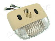 99-04 SAAB 9-3 9-5 INTERIOR LIGHT w/ SENSOR 12795569 BEIGE roof dome map lamp