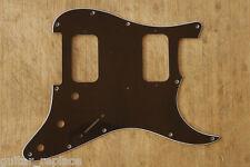 Golpeador Negro HH Stratocaster Pickguard 3 Capas Negro Humbucker Scratchplate