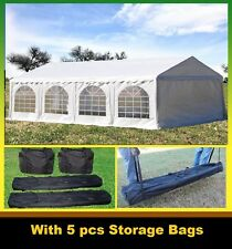PE Party Tent 26'x16' - Heavy Duty Party Wedding Outdoor Canopy Shelter - White