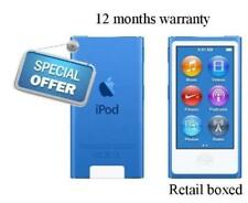Apple iPod Nano 7th Generation 16GB Blue Grade A+ 12 Months Warranty